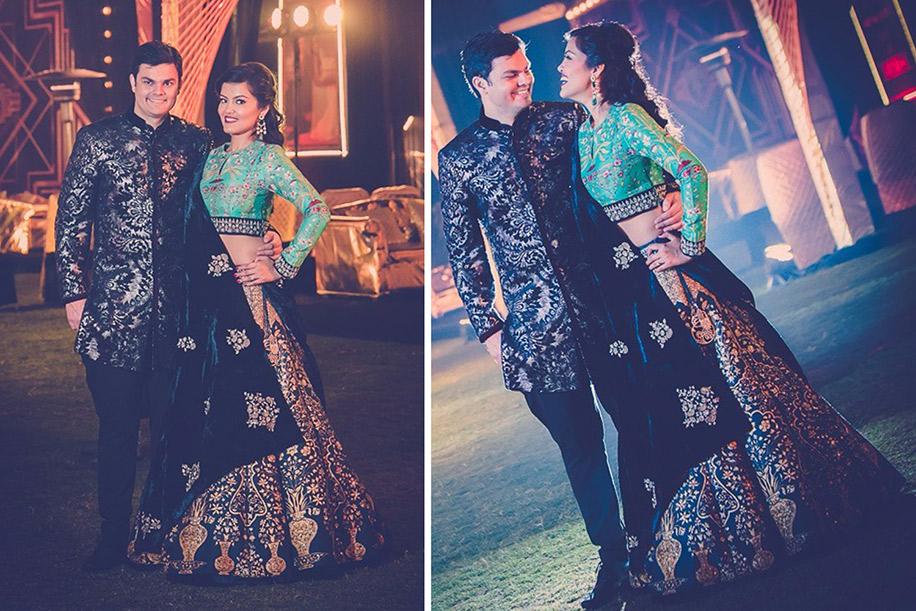 0ae5f0043b167 16 Times Real Brides Rocked Green Lehengas | Fashion | Bride ...
