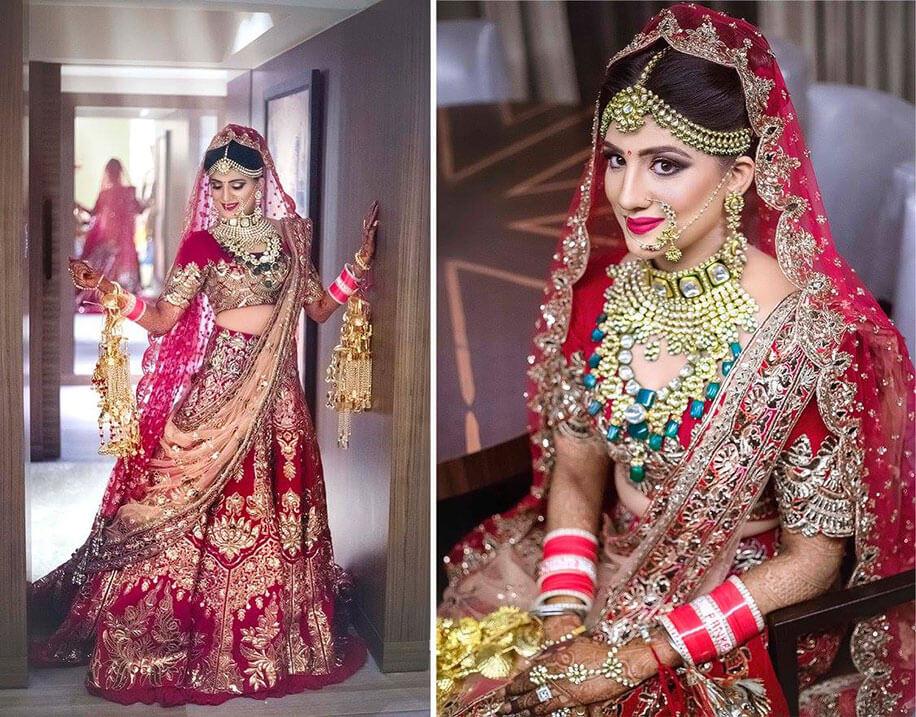 30 Times Real Brides Rocked A Manish Malhotra Design Fashion