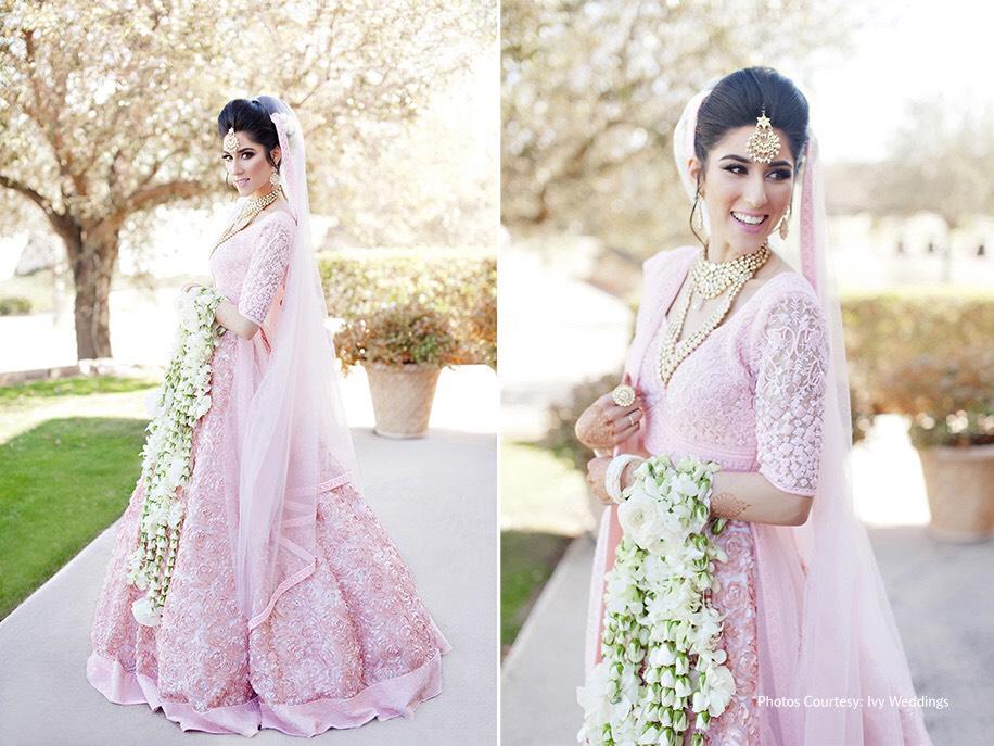 81cc4beea5 ... perfect on this gorgeous bride. ShedTheRed wedding lehenga