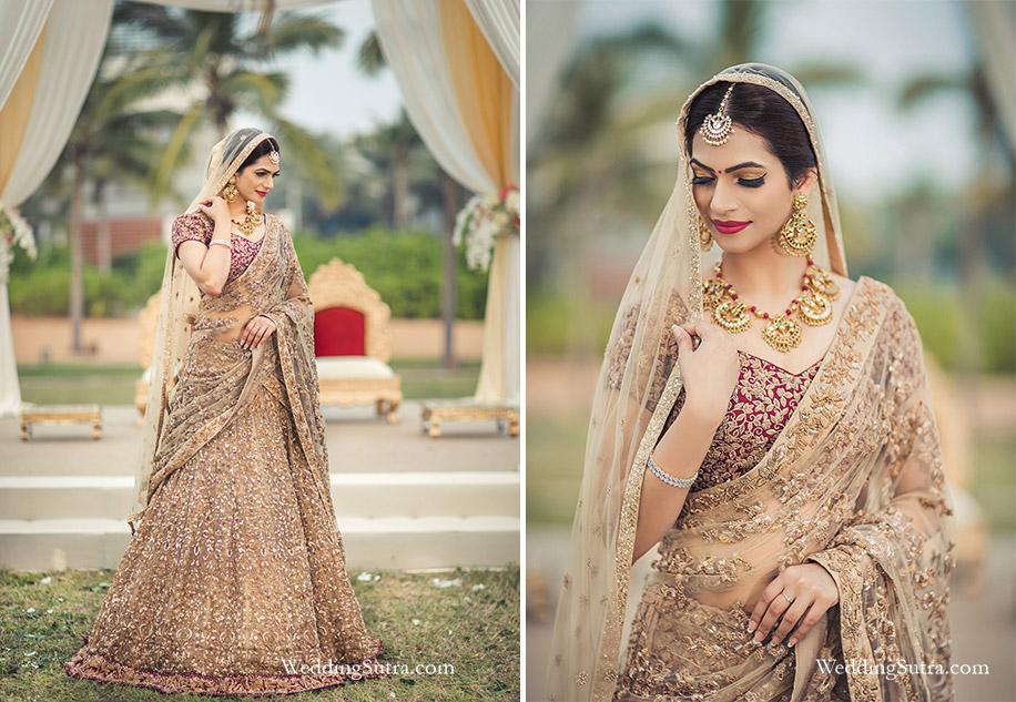 117284f7ad 20 Real Brides looking stunning in Shyamal & Bhumika ensembles
