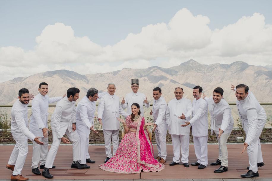 Benaisha Kharas and Yash Dongre | Celebrity Weddings | WeddingSutra