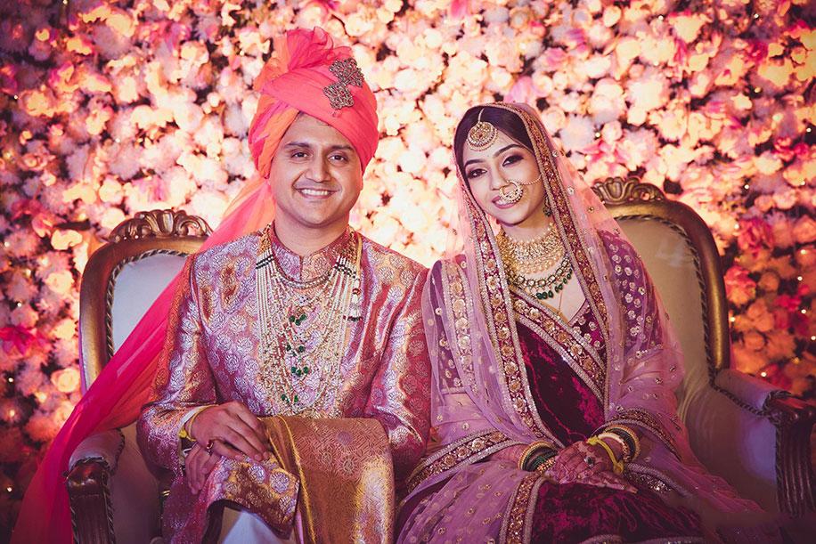 Akshay Bhansali and Krutika Ghorpade