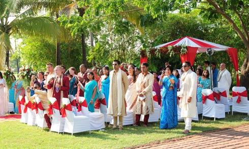Zuri white sands goa wedding bands