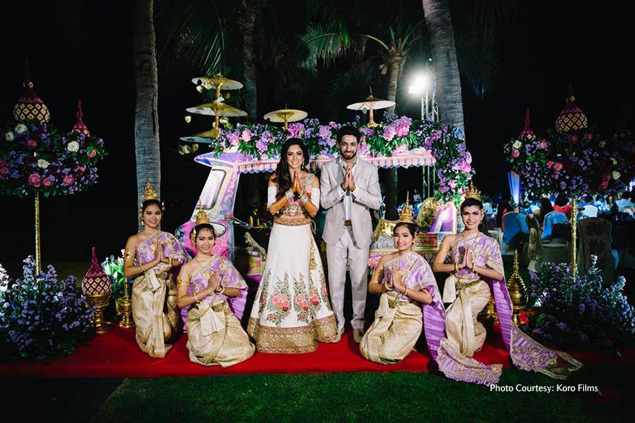 Khushbu and Mehul, Hua Hin, Thailand