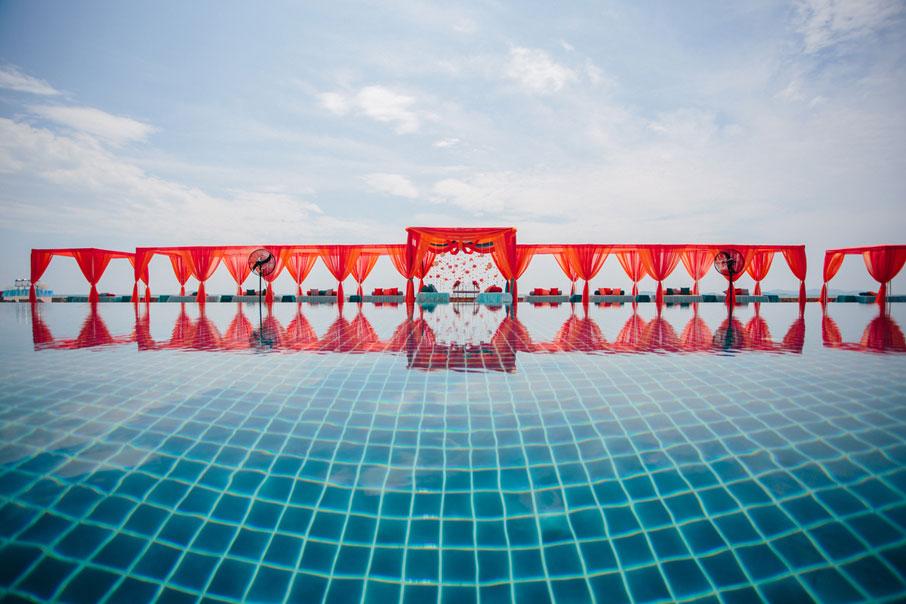 Payal Narang and Dhruv Gandhi | Marriott Resort and Spa in