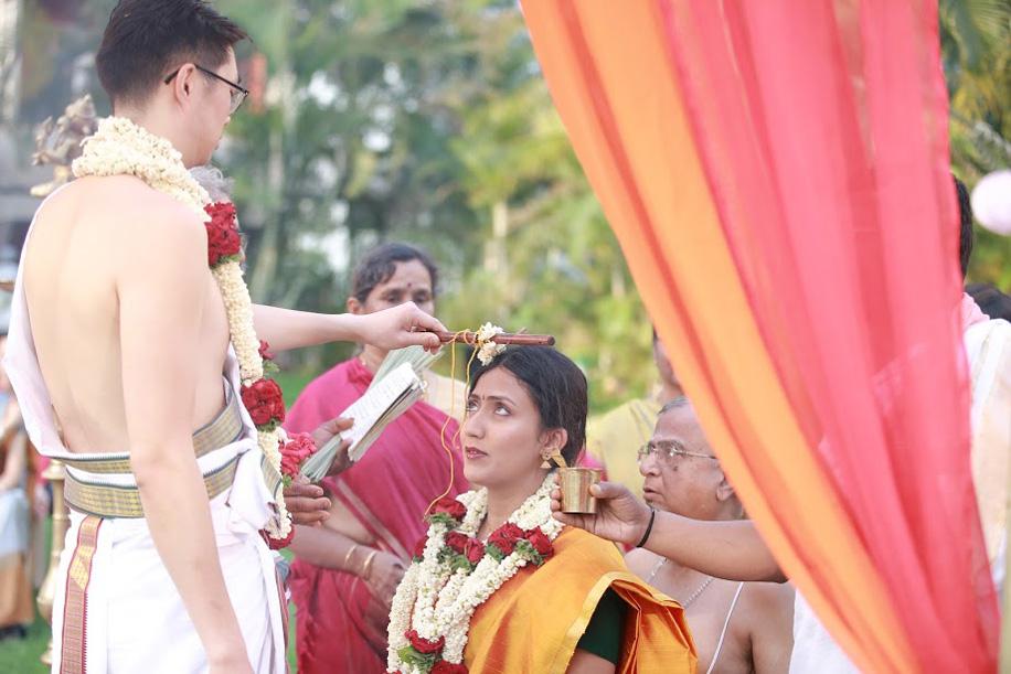 Anjana and Henri, Vivanta by Taj, Bangalore