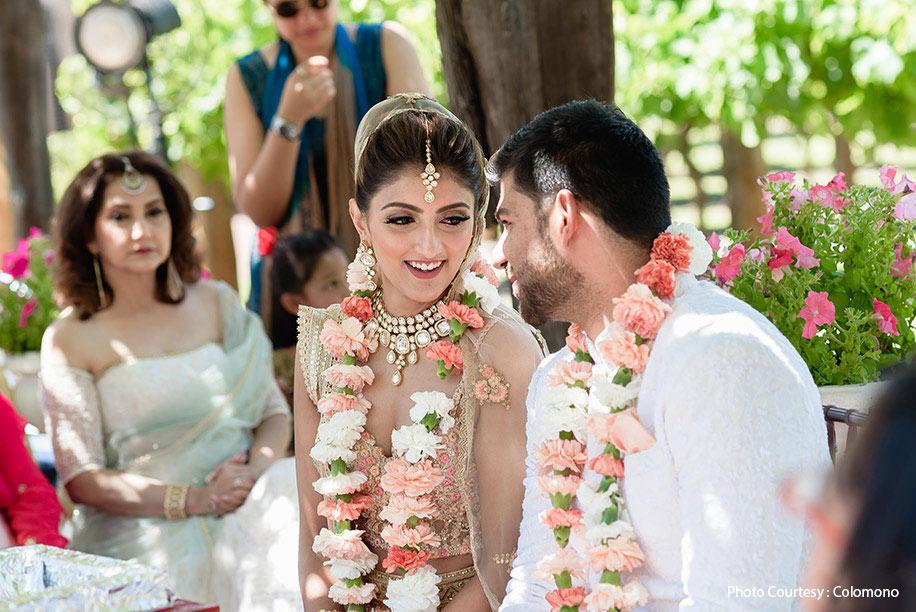 Colomono wedding dress
