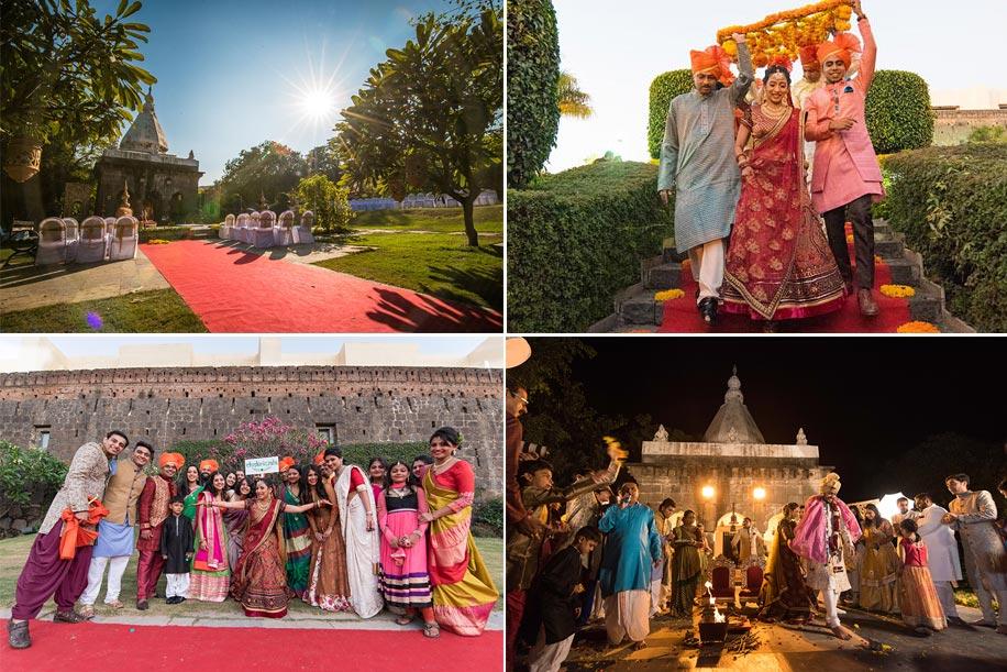 Jadhavgadh wedding hairstyles