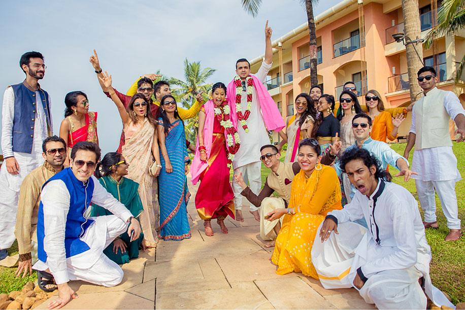 Saaksha and Karan, Goa Marriott Resort & Spa