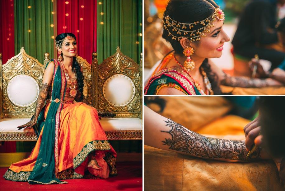 Mehendi Ceremony Look : Priyanka mehra real brides style weddingsutra.com