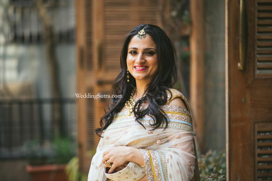Pooja | Anita Dongre Store | Mumbai | WeddingSutra on location