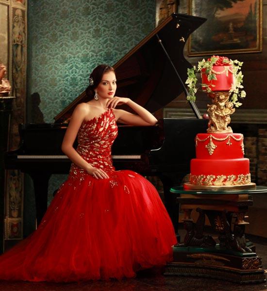 Cake Goes Bridal