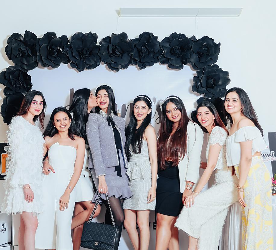 Hanna Khan's uber-chic Chanel Themed Bridal Shower in Mumbai