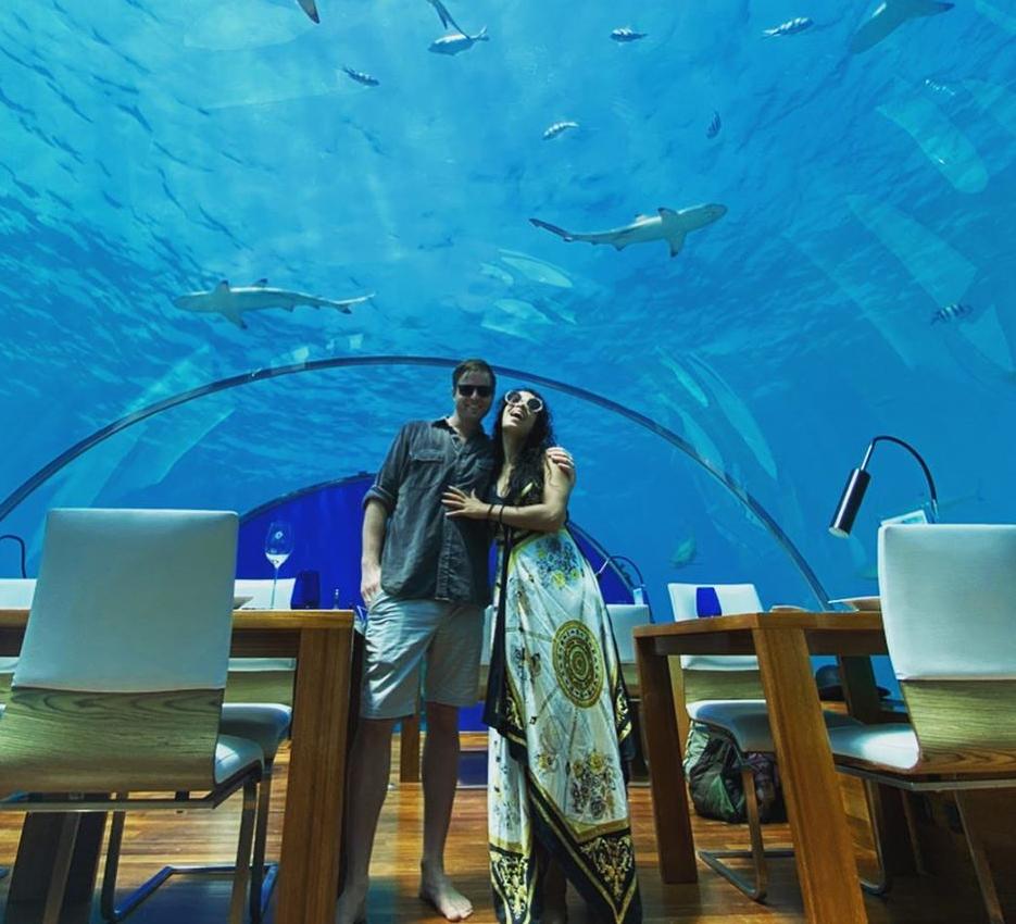 Devika Bhise and Nicholas Gilson, Maldives