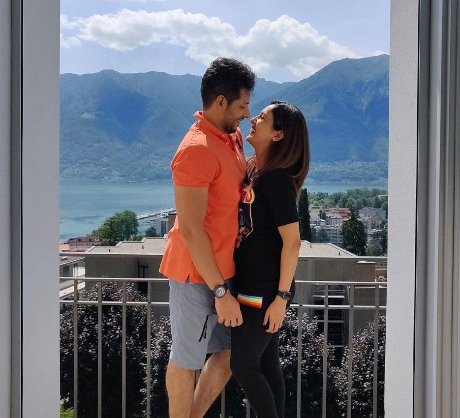 Neeti Mohan and Nihaar Pandya, Switzerland