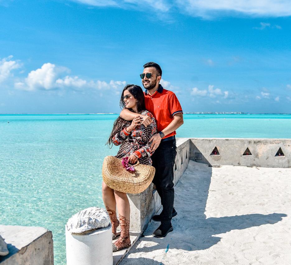 Somi and Yash, Maldives and Dubai