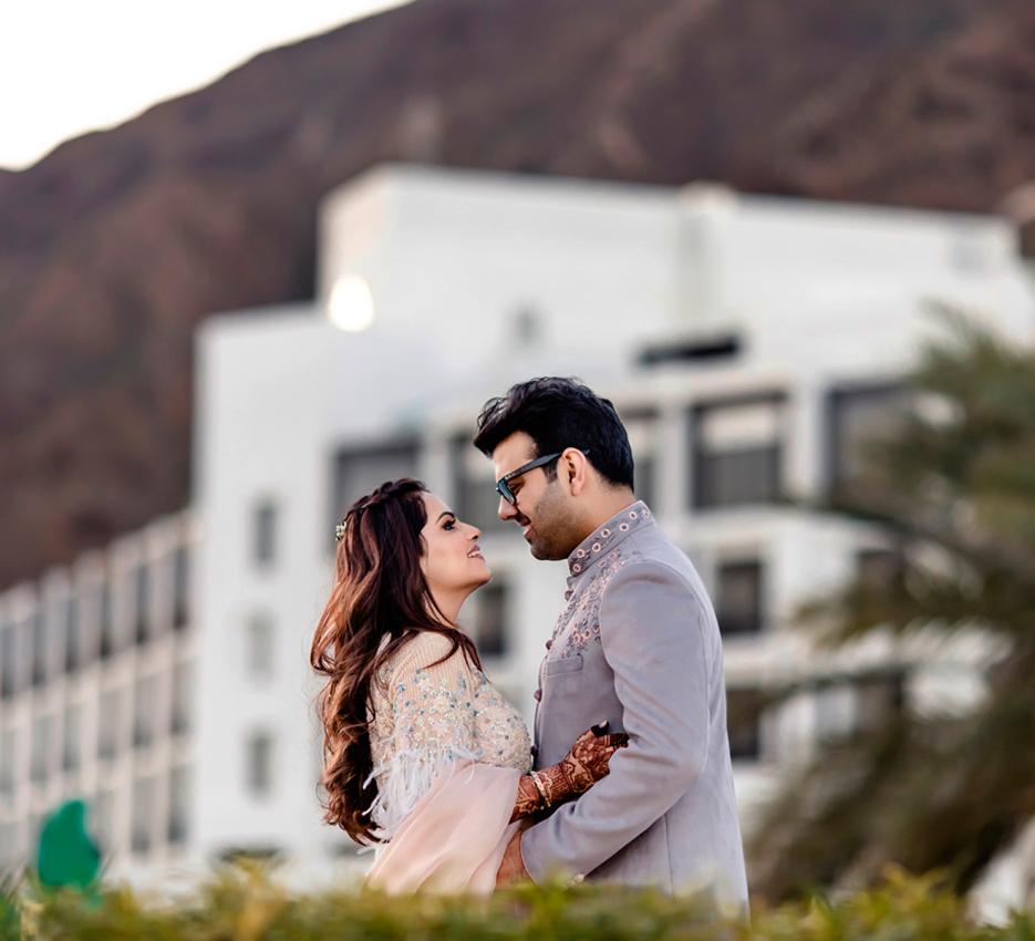 Riya and Pariksheth, UAE