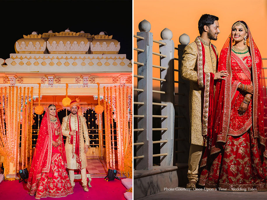 12 Real Grooms in Manyavar Outfits