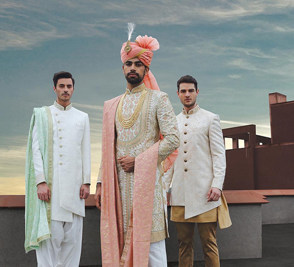Wedding Ideas Vogue: Indian Groom & Groomsmen Fashion Ideas & Inspiration