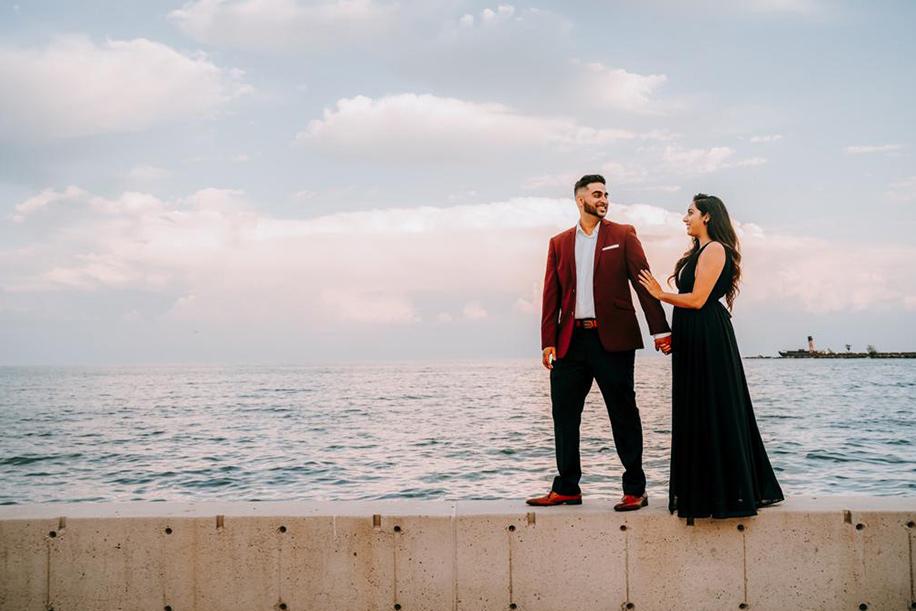 Tanya and Sagar wedding proposal