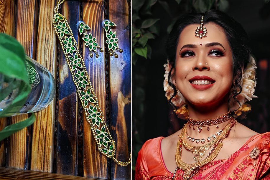 Jewellery for Assamese bride
