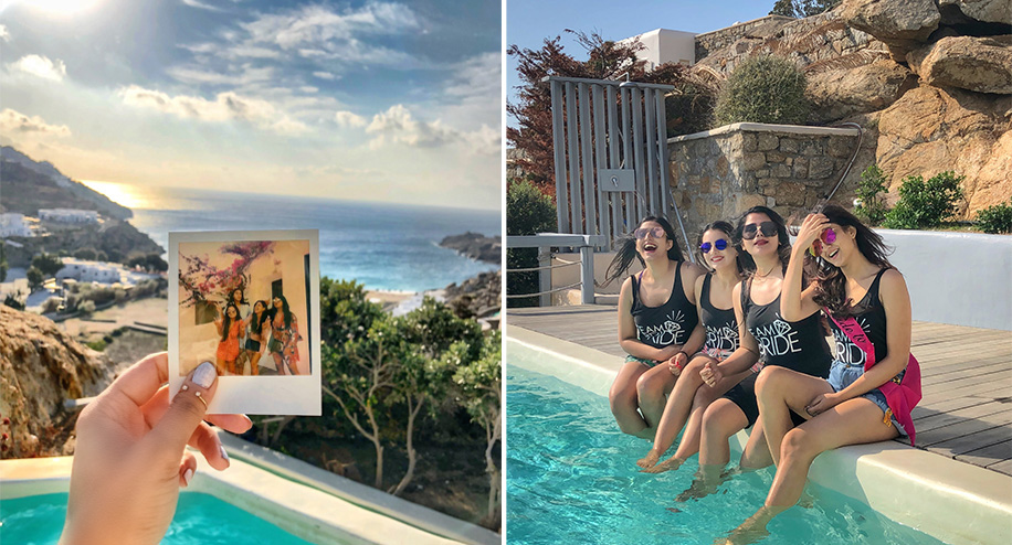 Karishma's Bachelorette Bash in Mykonos, Greece