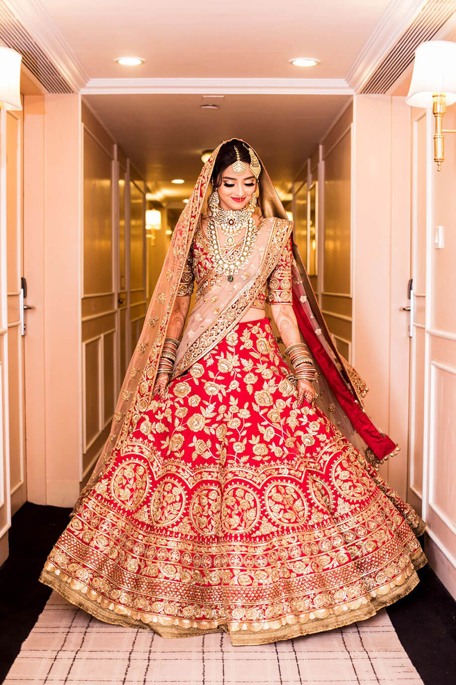 30 Times Real Brides Rocked A Manish Malhotra Design
