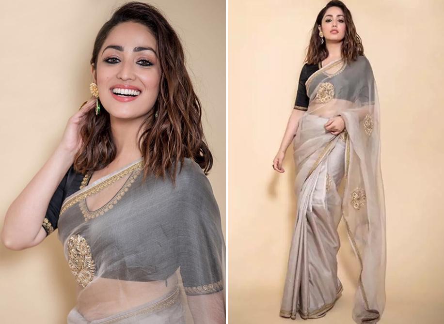 Effortlessly elegant! 10 times celebs wowed in Organza sarees - WeddingSutra