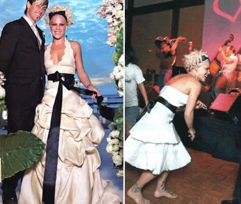 Wedding Dresses Singer Pinks Wedding Dress