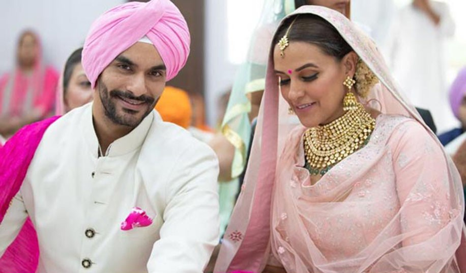 Angad Bedi and Neha Dhupia's Wedding