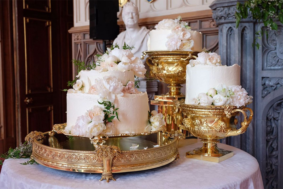 Wedding Cake of Prince Harry and Meghan Markle made by Claire Ptak, owner of Violet Cakes