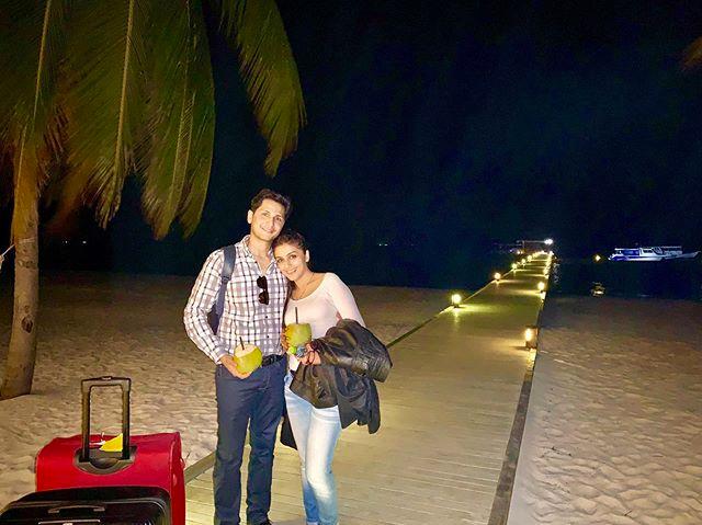 Aarti Chabria and Visharad Beedassy, Maldives
