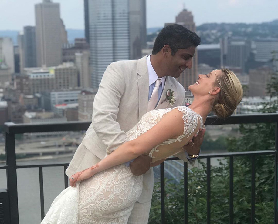 Alison Riske and Stephen Amritraj