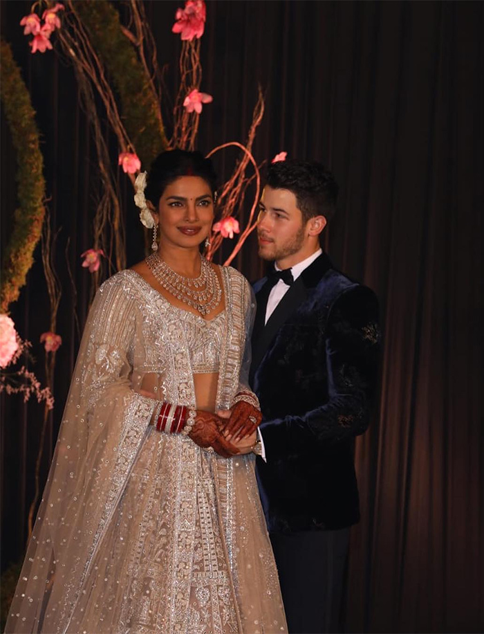 Priyanka Chopra and Nick Jonas Reception in Delhi