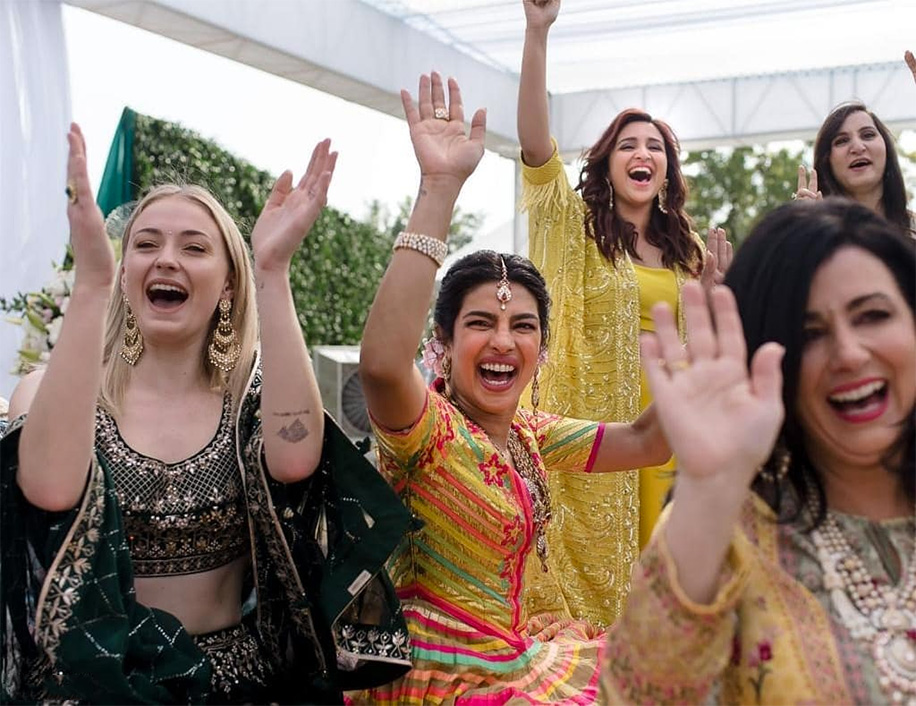 Priyanka Chopra's Mehndi Celebration in Jodhpur