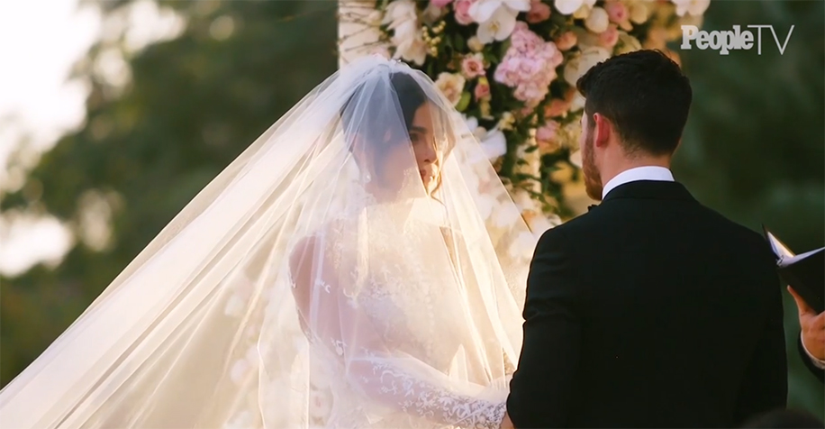 Priyanka Chopra and Nick Jonas White Wedding