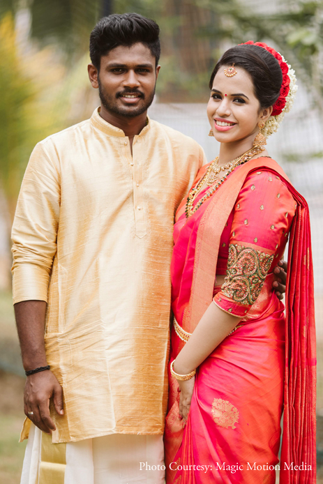 Sanju Samson and Charulatha, Trivandrum
