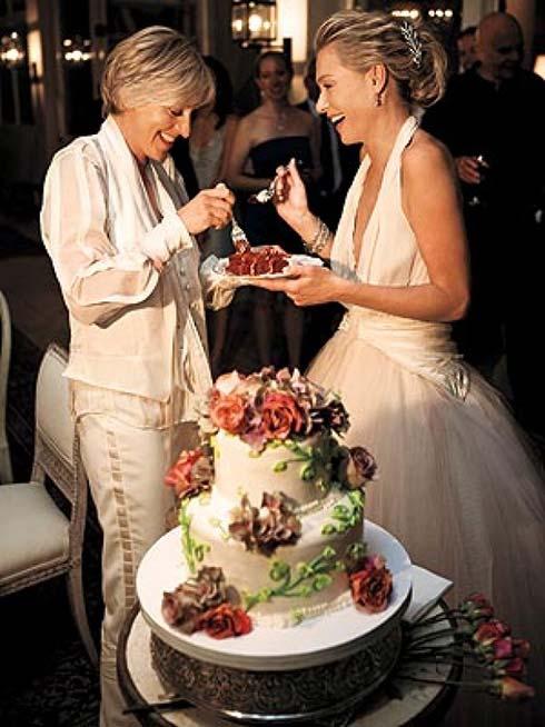 pics for gt ellen degeneres portia de rossi wedding rings