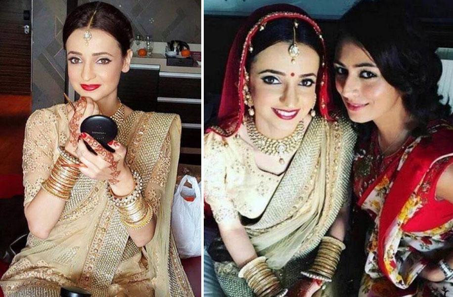 Sanaya Irani And Mohit Sehgal Celebrity Wedding