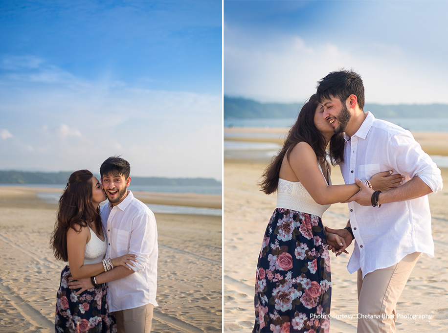 Jyoti and Karan, Goa