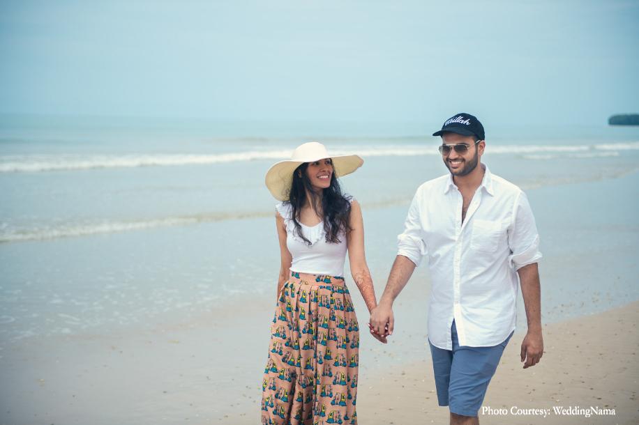 Nandita and Prabhav, Thailand