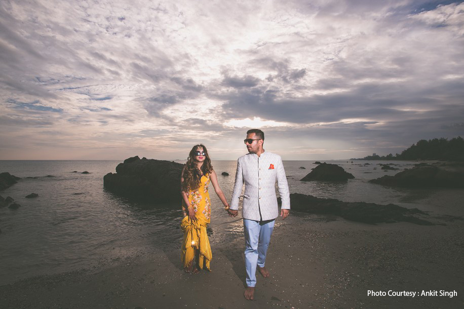 Niharika and Ashwin, Rayong Marriott Resort & Spa, Thailand
