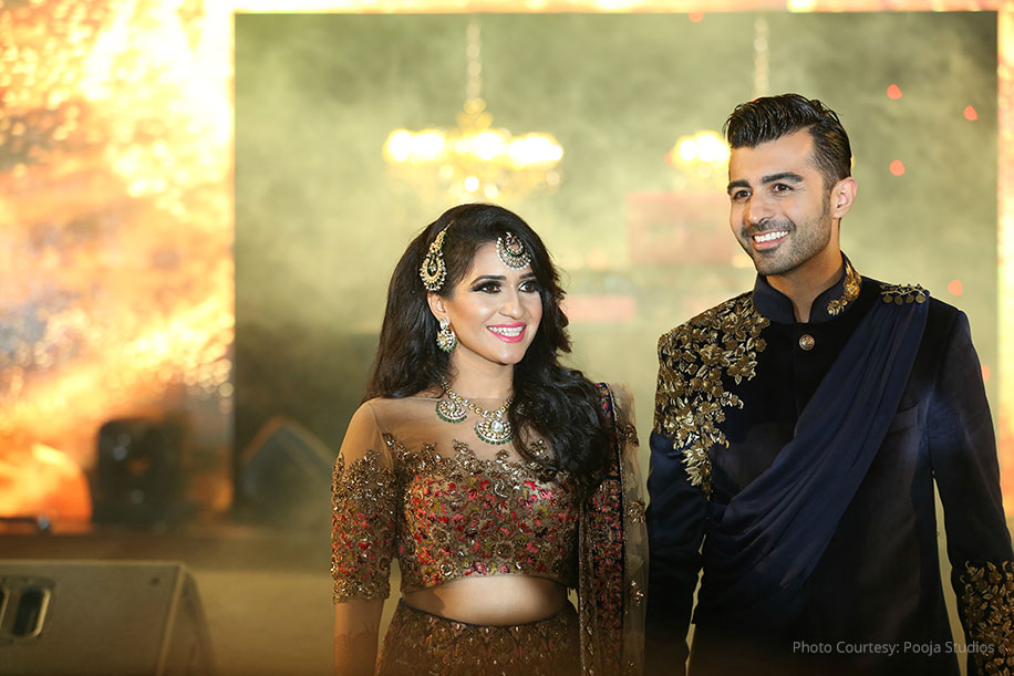 Pooji and Dhiraj, The Ritz Carlton Hotel Abu Dhabi, Grand Canal