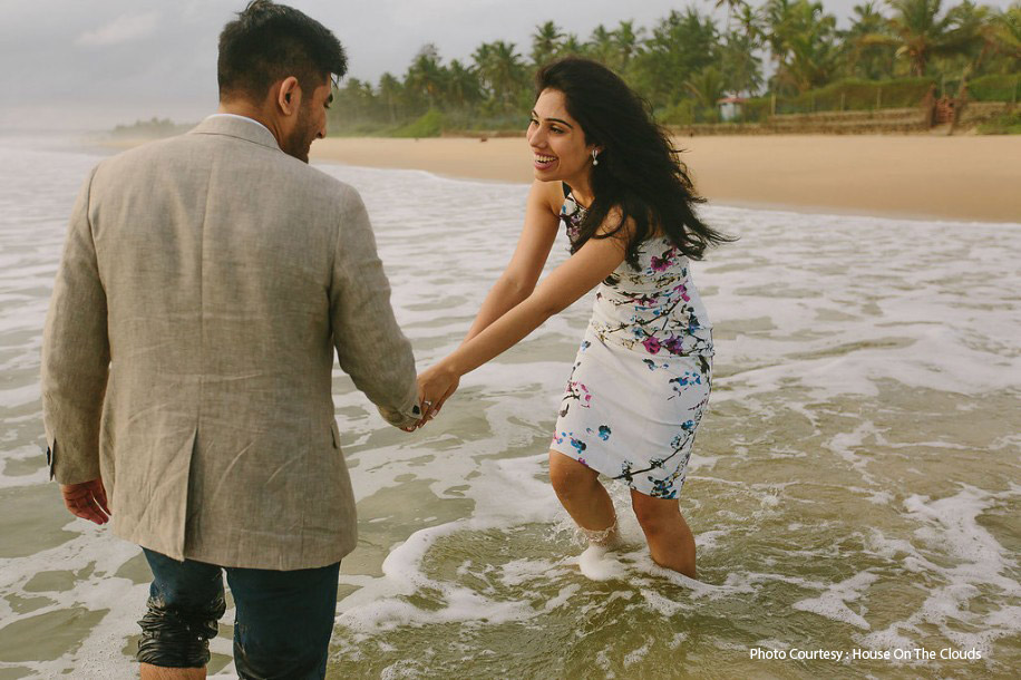 Sanchita and Manish, Goa, India