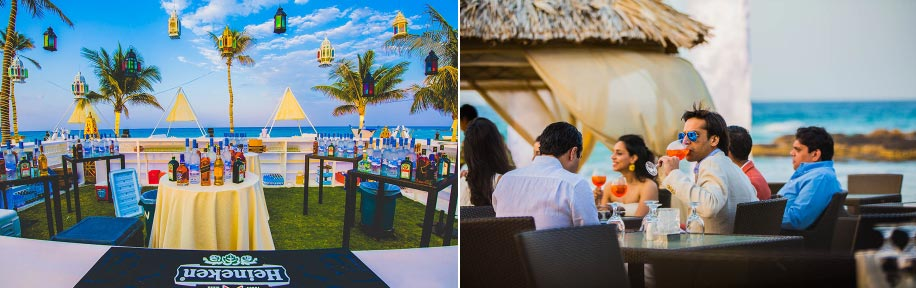 Beach Wedding Bar