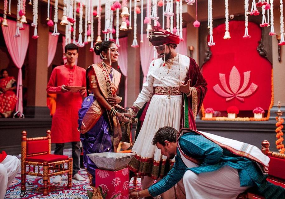 Maharashtrian Wedding traditions