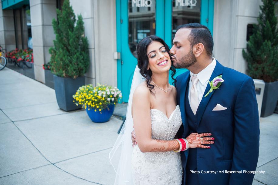 Diksha and Nikhil, Milwaukee, Wisconsin