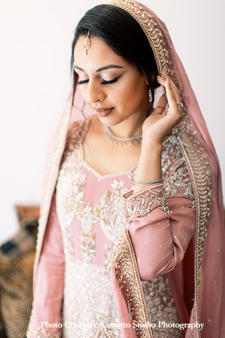 Pink Nikah outfit