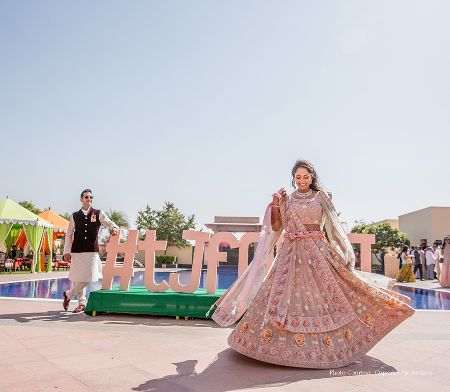 Tanya and Kapil, WelcomHotel Jodhpur