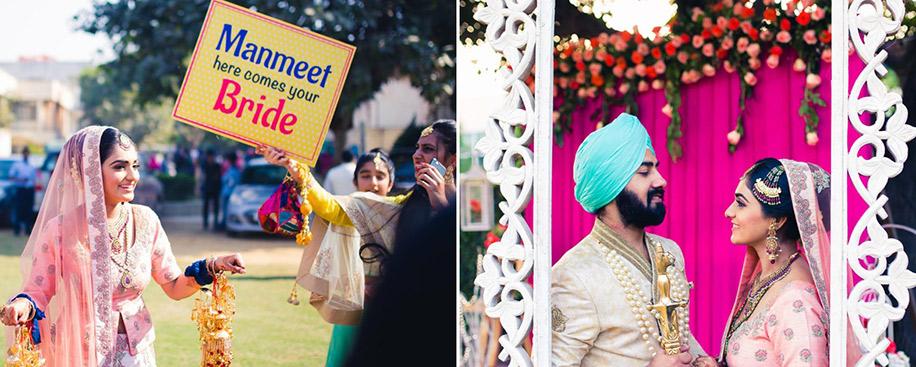mannat and manmeet chattarpur wedding weddingsutra